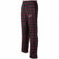 Reebok Buffalo Bills Red-naby Blue Plaid Match-up Flannel Pants