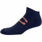 Reebok Chicago Bears Navy Blue Jacquard Logo Ankle Socks