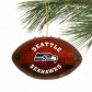 Seattle Seahawks 4'' Acrrylic Light-up Footbaol Ornament