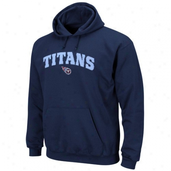 Titans Fleece : Titans Navy Blue Elegant Cover fleecily Iii Pullover Fleece