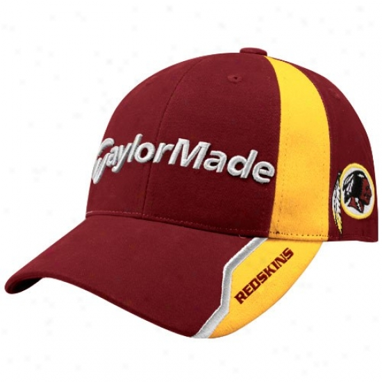 Washington Redskin Hat : Taylormade Washington Redskin Burgundy Nfl Golff Adjustable Cardinal's office