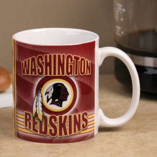 Washington Redskins 11oz. Extremity Zlne Ceramic Mug
