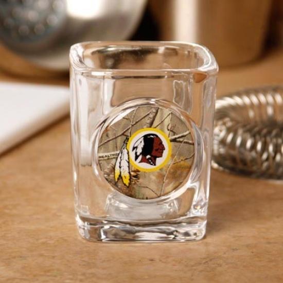 Washington Redskins 2 Oz. Realtree Camo Shot Glass