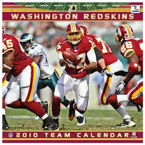 Washington Redskins 2010 Team Calendar