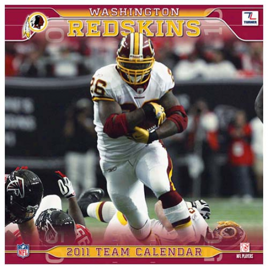 Washington Redskins 2011 Wall Calendar