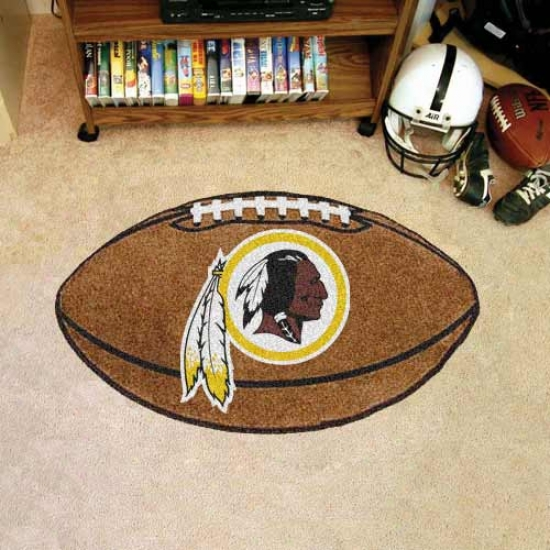 """washington Redskins 22""""x35"""" Football Mat"""