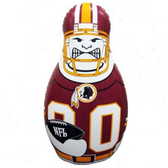 Washington Redskins 40'' Inflatable Tackle Buddy Punching Bag