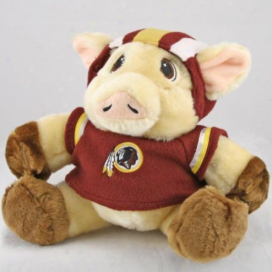 """washington Redskins 9"""" Plush Mascot"""