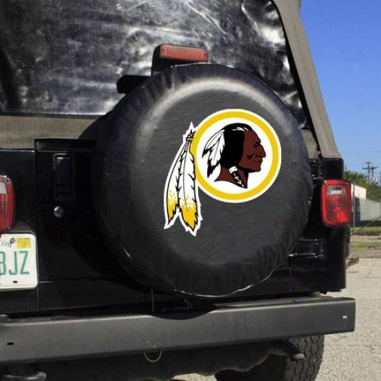 Washington Redskins Black Logo Tire Cover