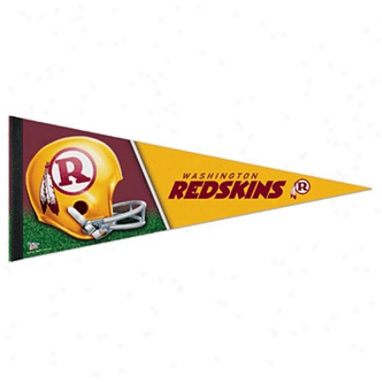 Washington Redskins Burgundy-gold 12'' X 30'' Premium Felt Pennant