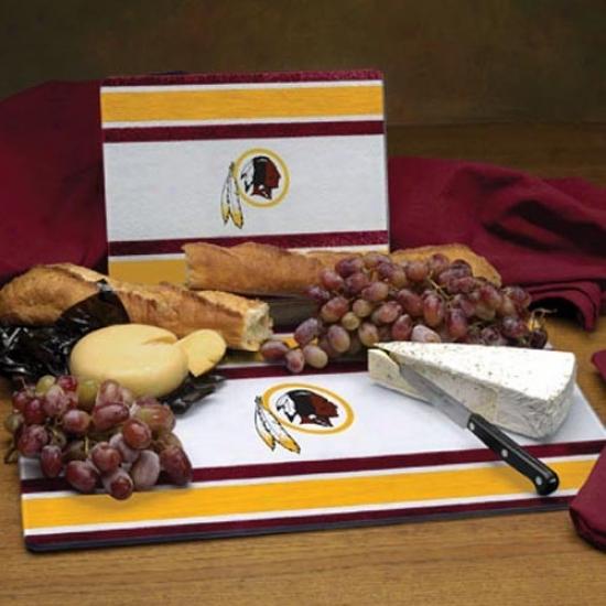Washington Redskins C8tting Board Set