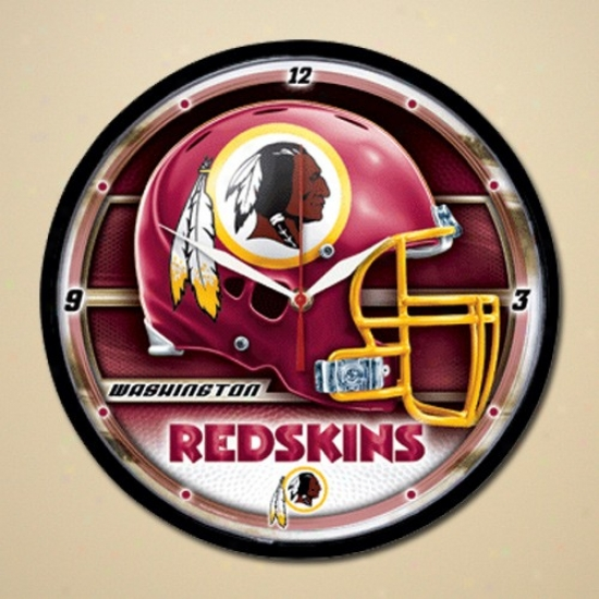 Washington Redskins Dimension Wall Clock