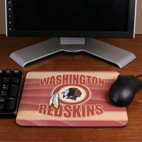 Washihgton Redskins End Zone Mousepad