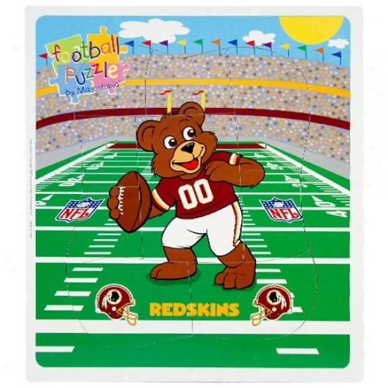 Washington Redskins Football Puzzle