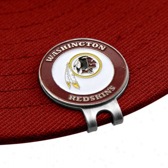 Washington Redskins Golfer's Hat Clip & Ball Markers