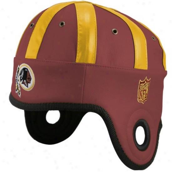 Washington Redskins Hay : Washington Redskins Burgundy Helmet Head