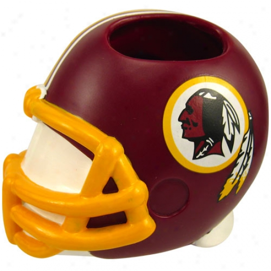 Washington Redskins Helmet Toothbrush Holder