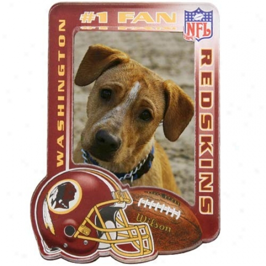 Washington Redskins High Defnition Magnetic Photo Frame