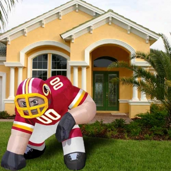 Washington Redskins Inflatable Bubba Mascot