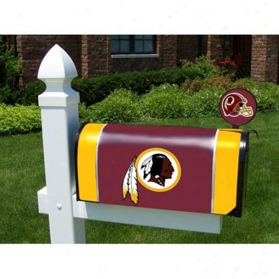 Washington Redskins Mailbox Cover