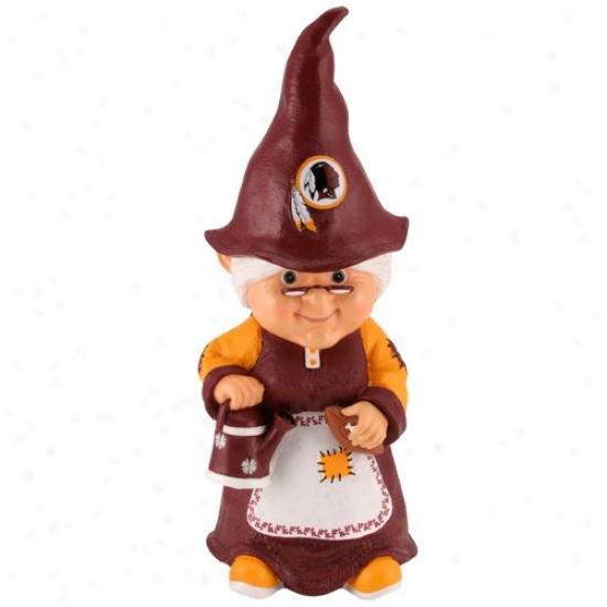 Washington Redskins Nfl Femal3 Garden Gnome