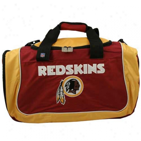 Washington Redskins Nylon Nfl Duffel Bag