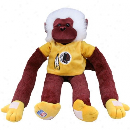 Washington Redskins Team Rally Monkey