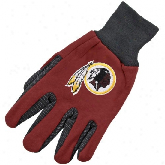 Washington Redskins Two-tone Utility Gloves