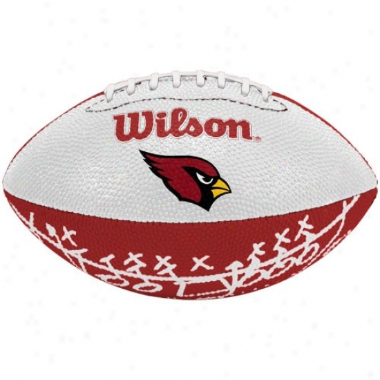 Wilson Arizona Cardinals Rubber Mini Football