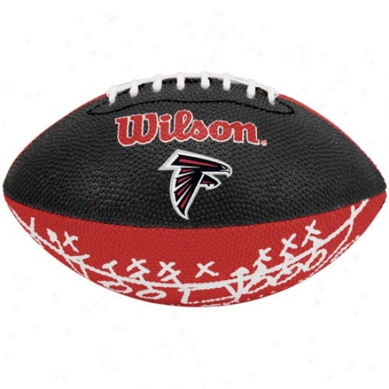 Wilson Atlanta Falcons Rubber Mini Football