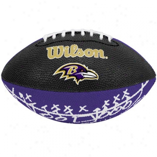 Wilson Baltimore Ravens Rubber Mini Football