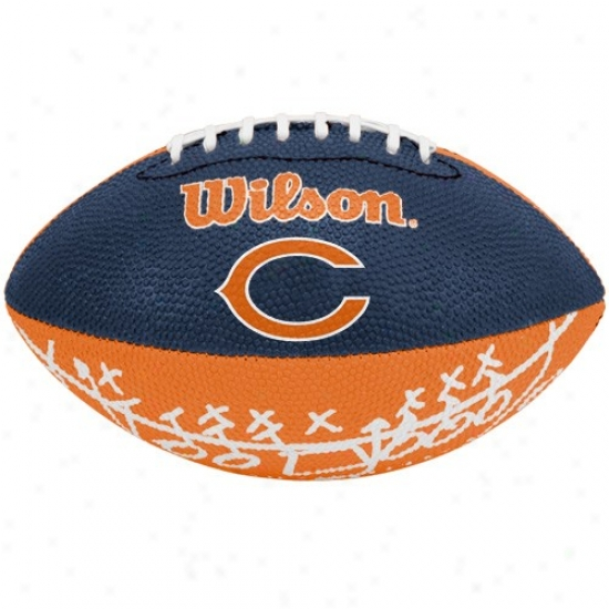 Wilson Chicago Bears Rubber Mini Football