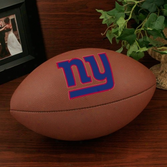 Wilson New York Giants 12'' Composite Nfl Team Logo Football