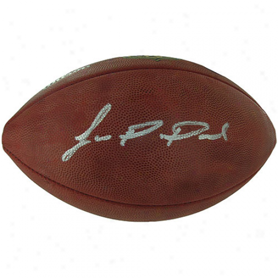 Wilson New York Giants Jason Pierre-paul Autographed Nfl Authentic ''the Duke'' Game Ball