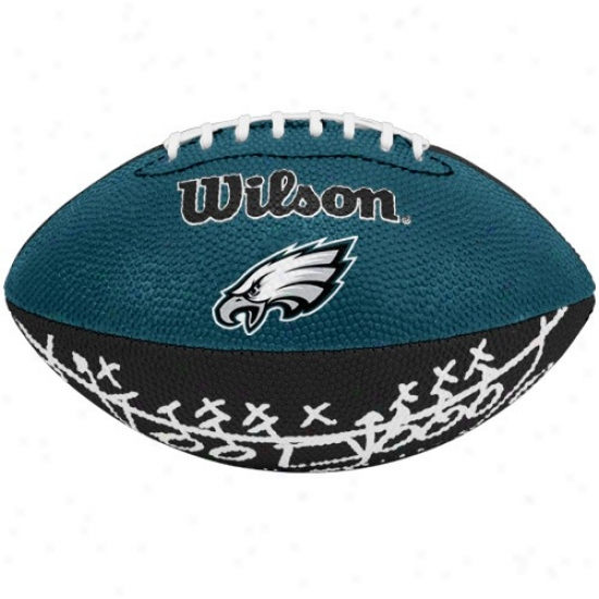 Wilson Philadelphia Eagles Rubber Mini Football