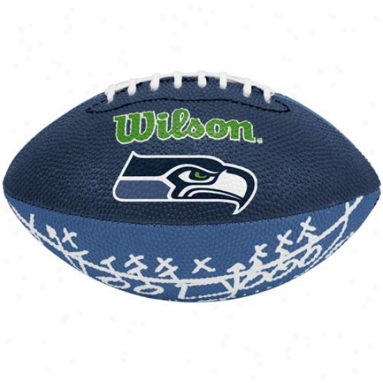 Wilson Seattle Seahawks Rubber Mini Football