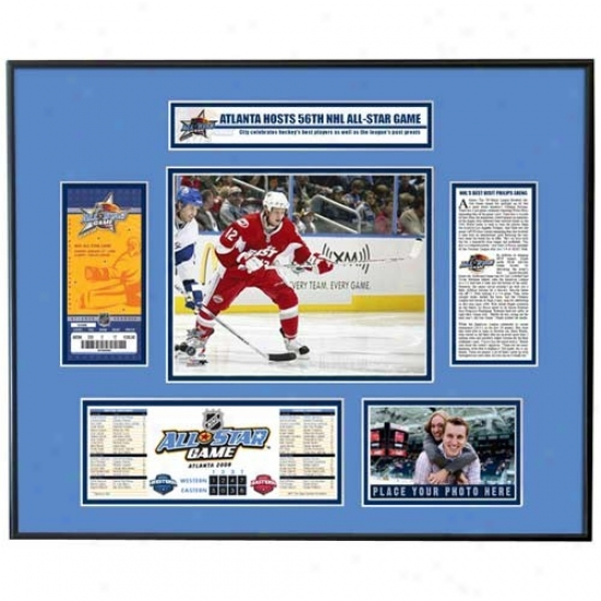 2008 Nhl All-star Game Tcket Frame - Eric Staal