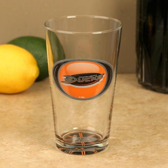 Anaheim Ducks 17 Oz. Bottoms Up Mixing Glass
