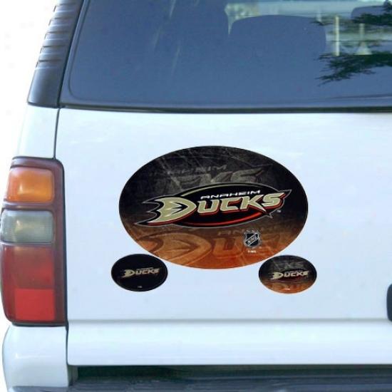 Anaheim Ducks 3-pack Magnet Set