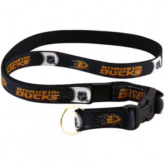 Anaheim Ducks Black Lanyard