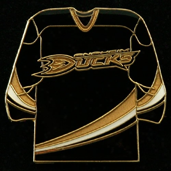 Anaheim Ducks Hat : Anaheim Ducks Team Jersey Pin