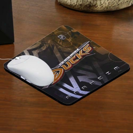 Anaheim Ducks Team Logo Neoprene Mousepad