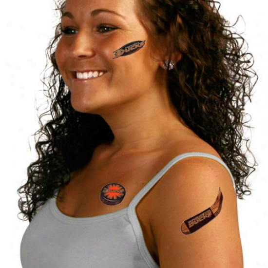 Anaheim Ducks Temporary Tattoos