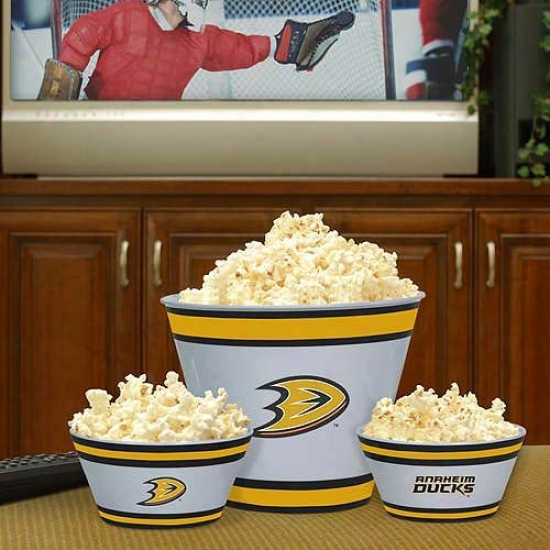 Anaheim Ducks Three-piece Melamine Serving Set