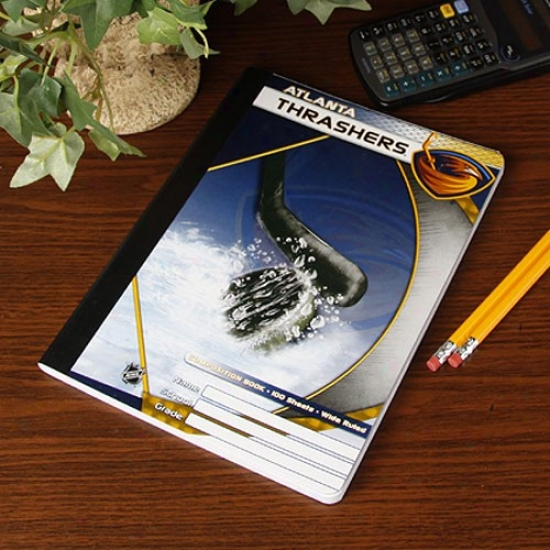 Atlanta Thrashers Composition Notebook