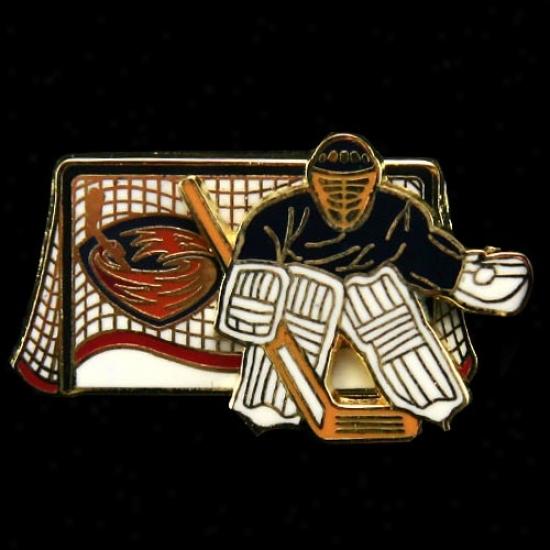 Atlanta Thrashers Hat : Atlanta Thrashers Movable Goalie Pin