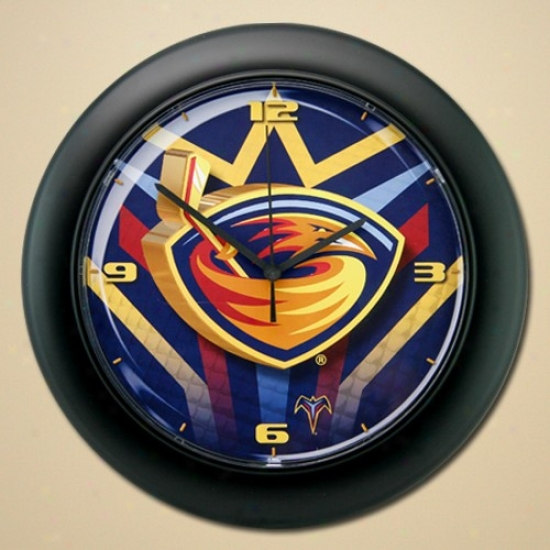 Atlanta Thrashers High Definition Wall Clock