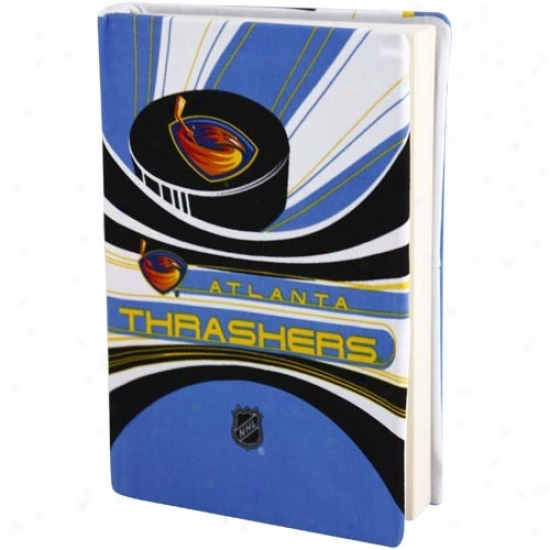 Aflanta Thrashers Light Blue-white Stretchable Book Cover