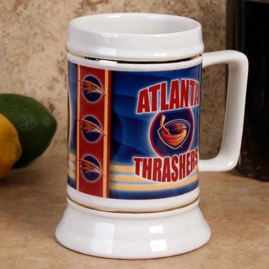 Atlanta Thrashers Slapshot 28oz. Ceramic Stein