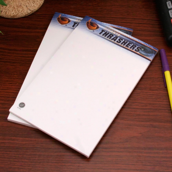 Atlanta Thrashers Two-pack 5'' X 8'' Team Logo Notepads